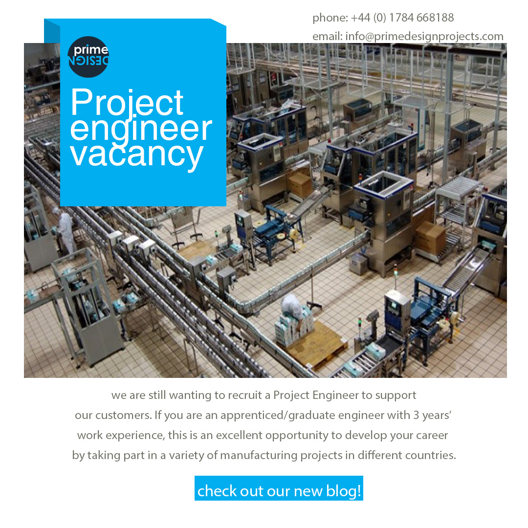 Successful show and project engineer vacancy